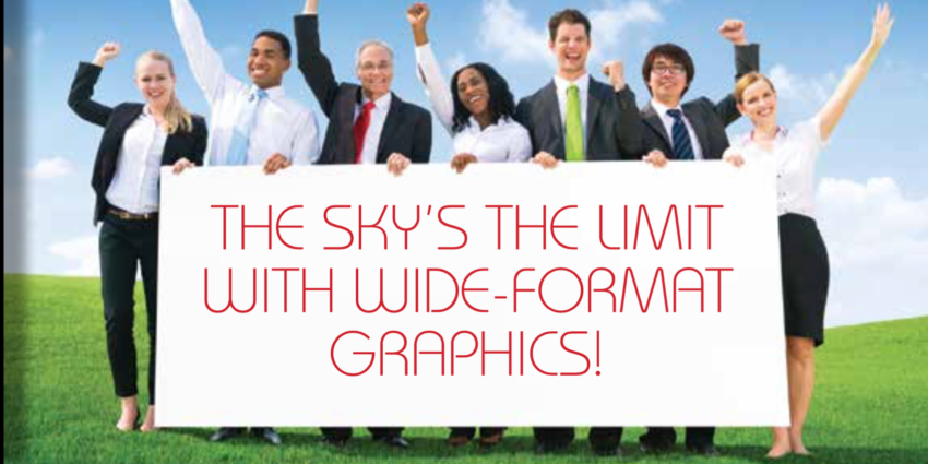 The Sky's the Limit with Large Format Printing